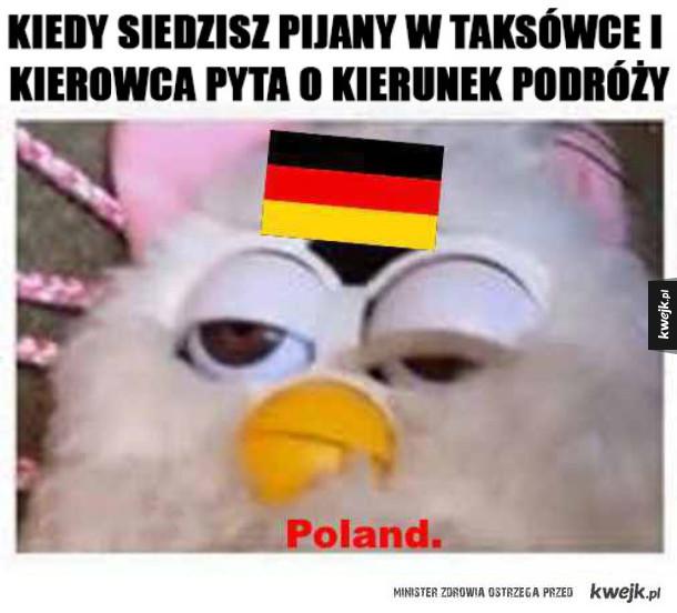 NA polskę!