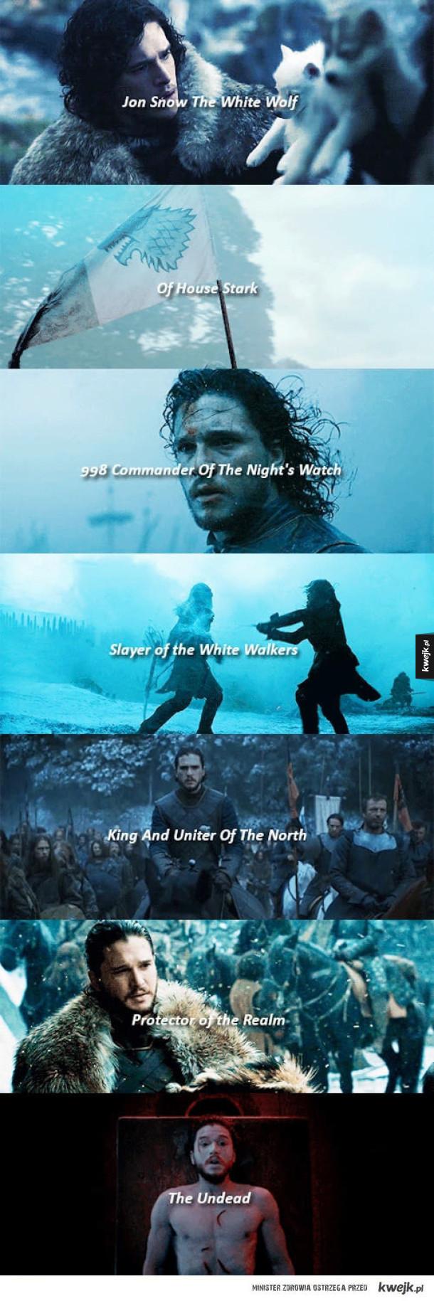 Jon Snow też potrafi
