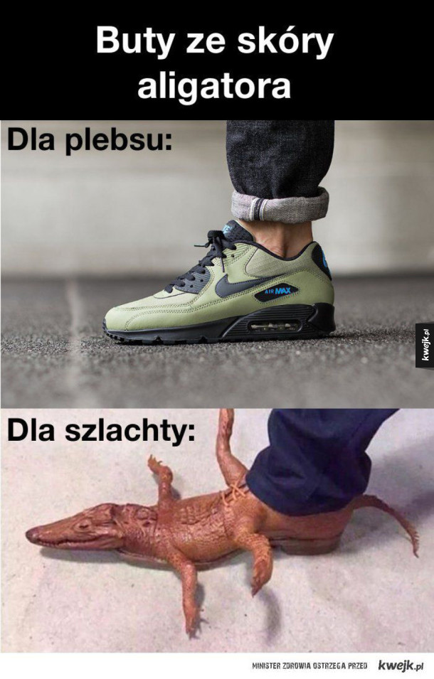 Buty ze skóry aligatora
