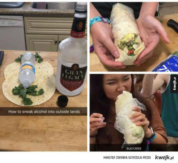 Zaskakujące i kreatywne sposoby na przemycanie alkoholu