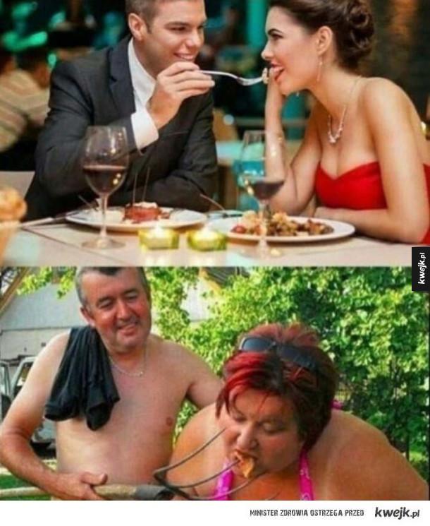 Romantyczne kolacje