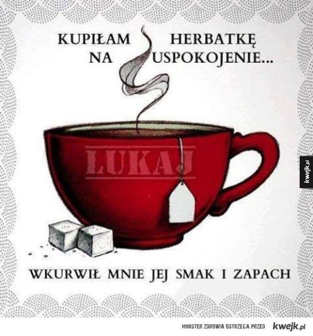 Herbatka na uspokojenie