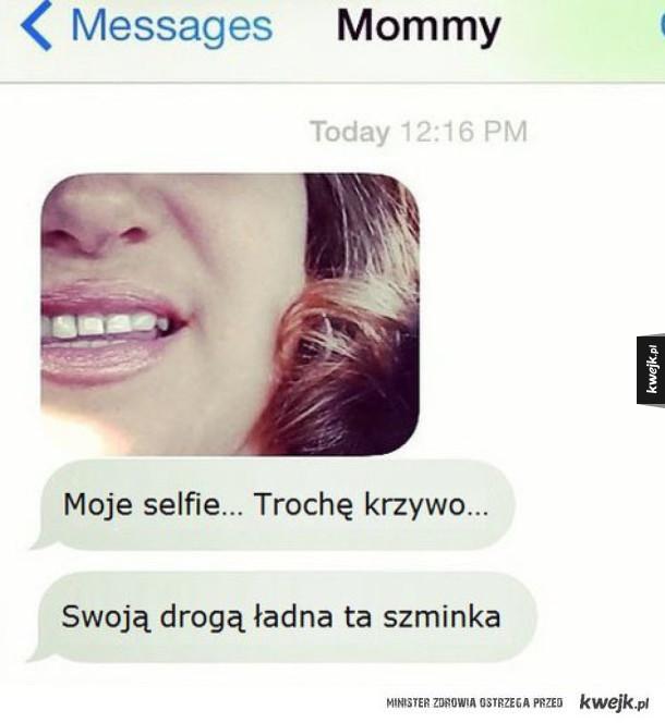 Nietypowe wiadomości, które możesz dostać tylko od swojej mamy