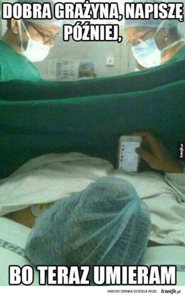 Janusz w szpitalu