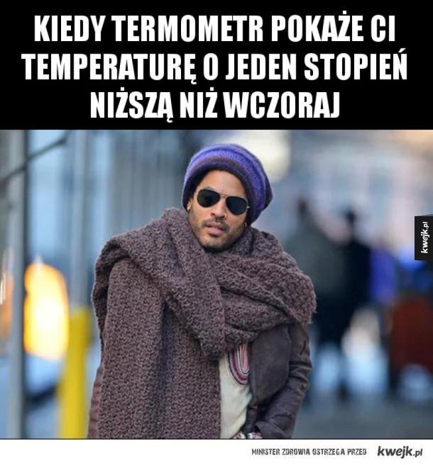Idzie zima