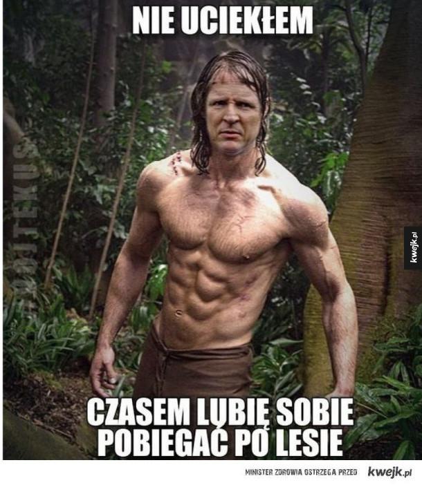 Reakcja internautów na informację, że Jacek Kurski uciekł z miejsca wypadku do lasu