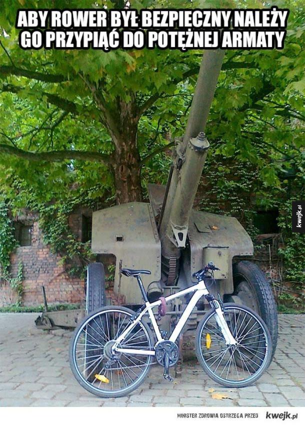 Jak zabezpieczyć swój rower