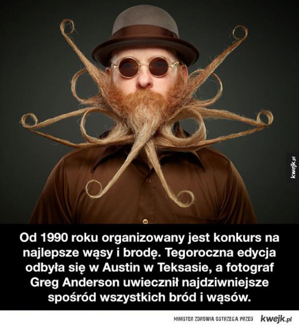 Laureaci konkursu na najlepsze wąsy i brodę 2017 roku