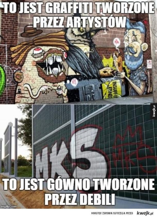 Street art- sztuka czy wandalizm ?