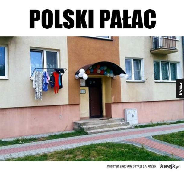 Imprezowo w Polskim pałacu