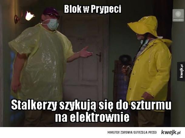 Blok w Prypeci