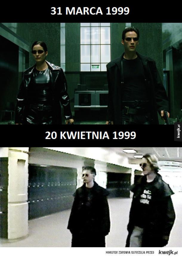 Premiera Matrixa i Columbine High School massacre