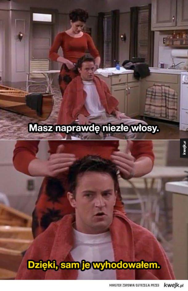 Najlepsze riposty i teksty Chandlera Binga