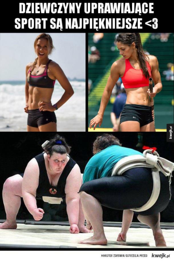 Najpiękniejsze sportsmenki