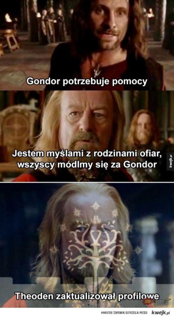 Gondor potrzebuje pomocy