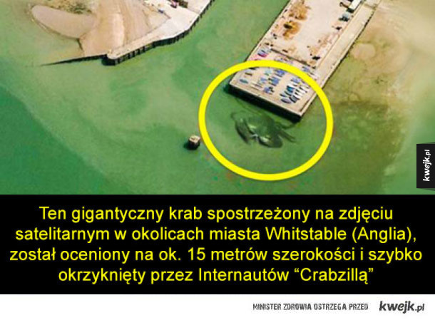 Ciekawe rzeczy, które można zaobserwować na zdjęciach satelitarnych