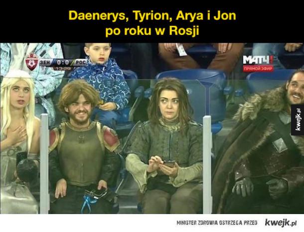 Arya źle wygląda