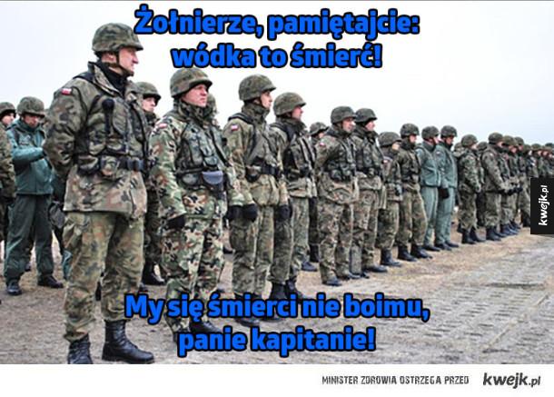 Tymczasem w wojsku