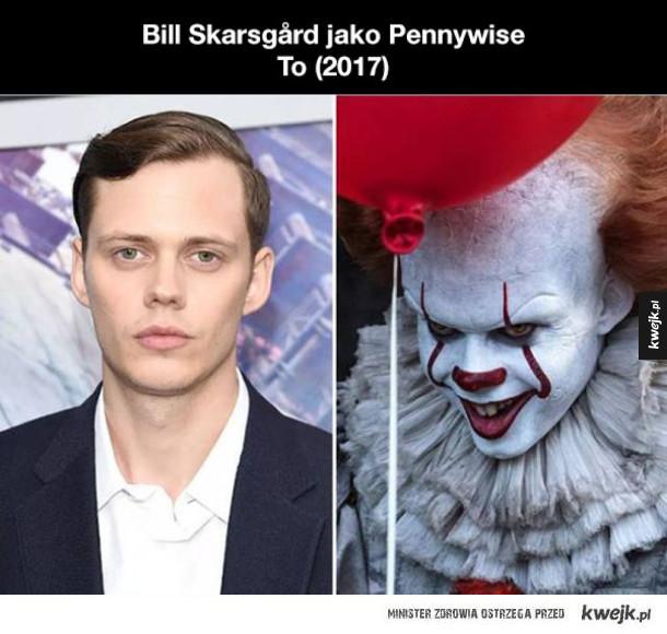 Aktorzy nie do poznania dzięki charakteryzacji