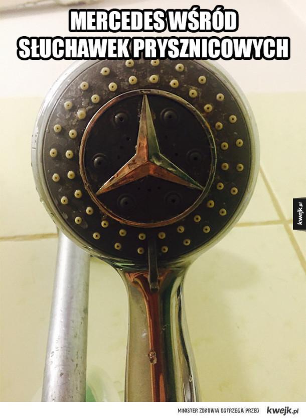 Prysznicowy Mercedes
