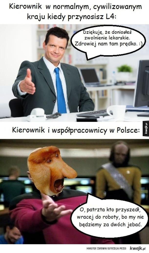 Polska kontra reszta świata