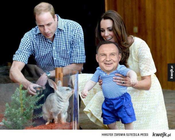 Royal baby poczęte w Polsce