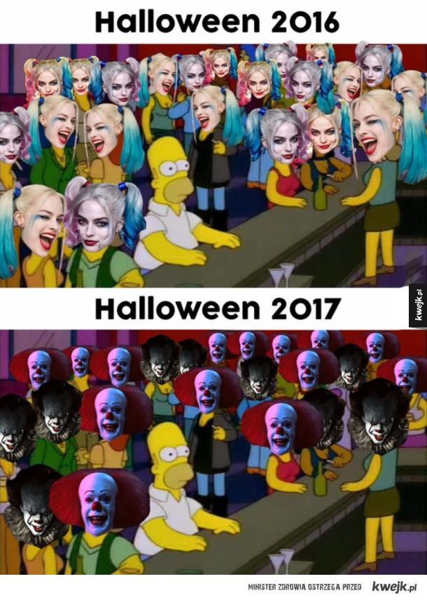 A w tym roku na halloween...