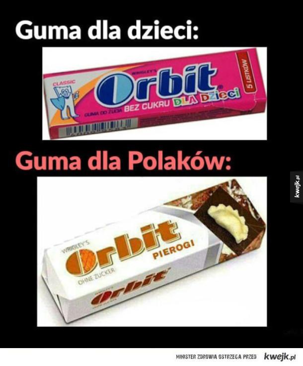 Guma do żucia dla Polaków