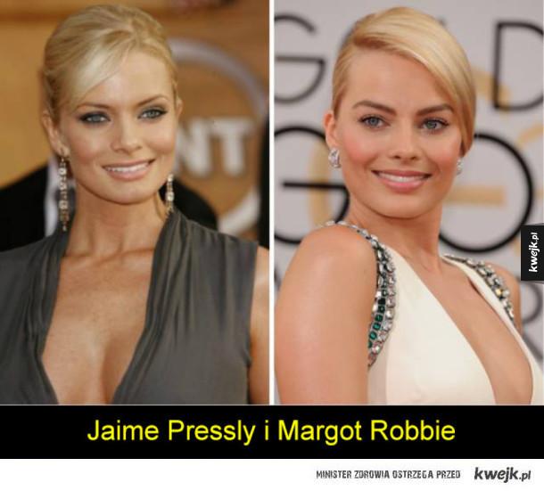 Aktorzy i aktorki, którzy wyglądają identycznie, mimo że nie są spokrewnieni