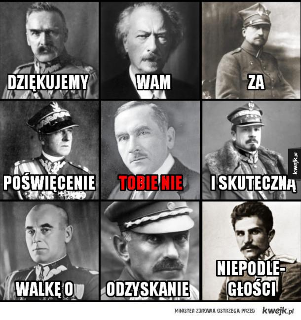 To dzięki nim Polska odzyskała niepodległość