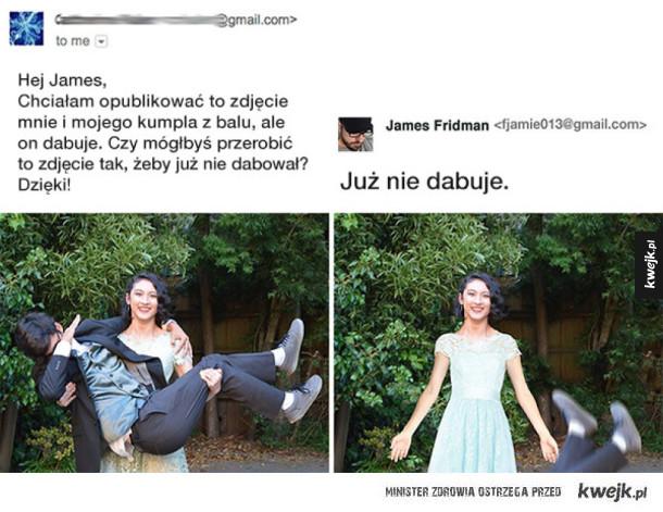 Mistrz Photoshopa trolluje
