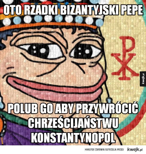 Bizantyjskie Pepe