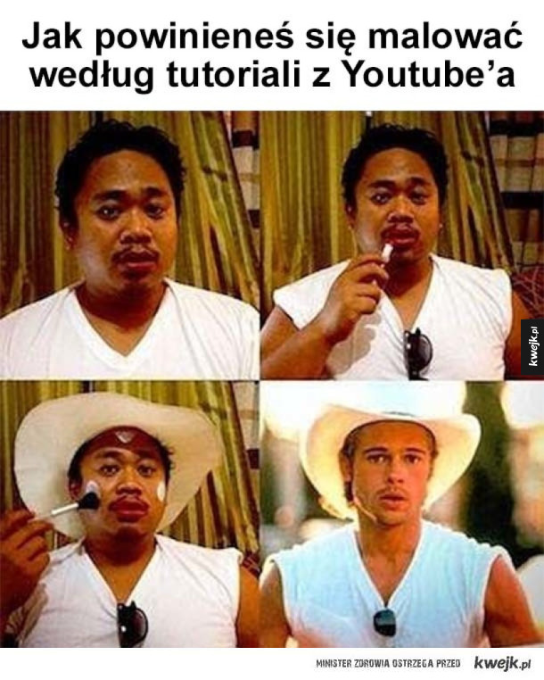 Typowy tutorial z Youtube'a