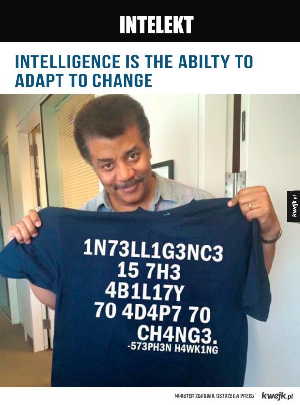 napis na koszulce