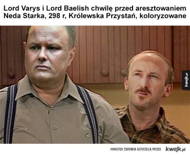Lordowie Varys i Baelish