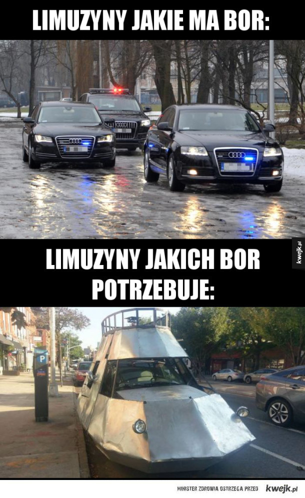 Nowe opancerzone limuzyny BOR