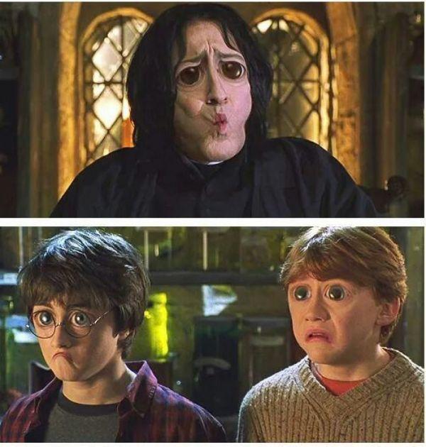 photoshop Harry'ego Pottera