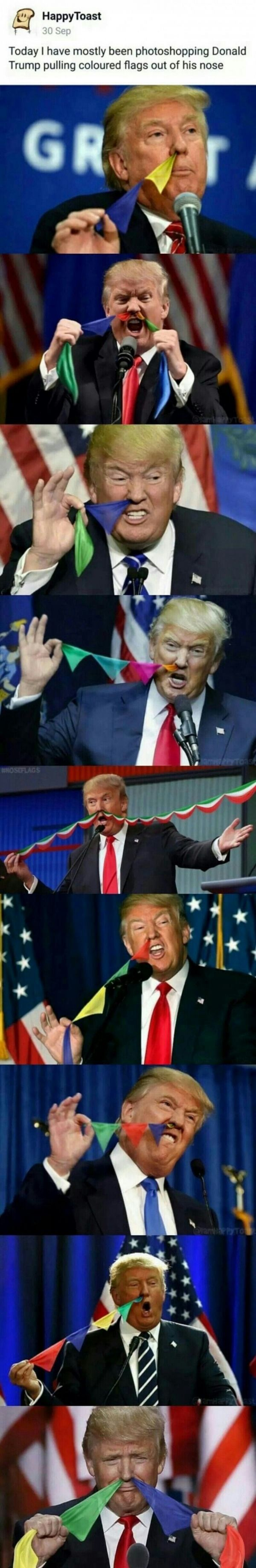 photoshop Trumpa