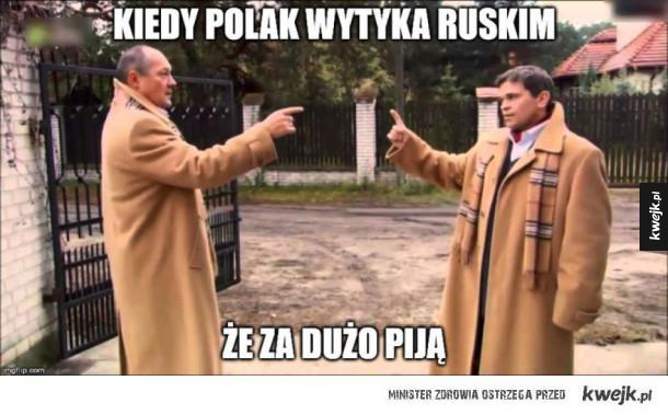 Polak vs Rusek