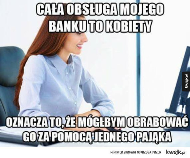 Okradnę ten bank bez problemu