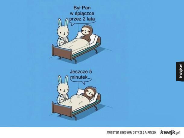 wyjście ze śpiączki