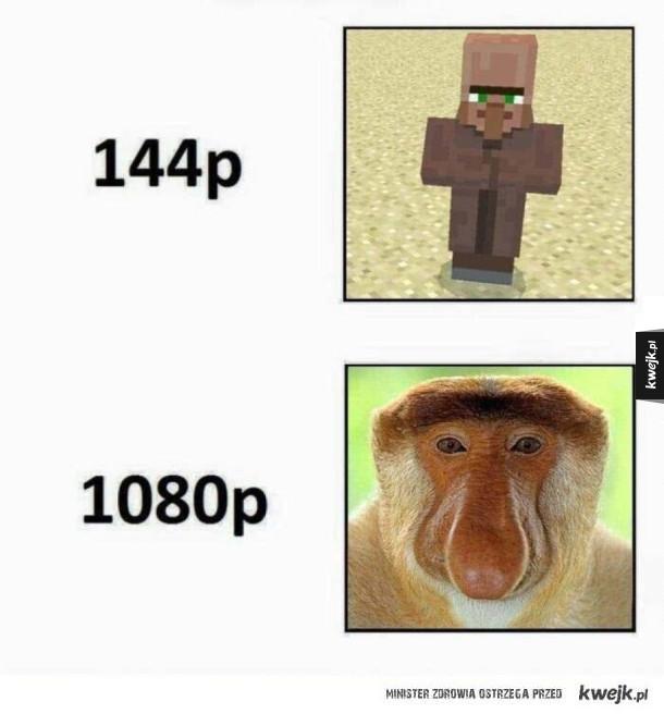 Różnica w jakości