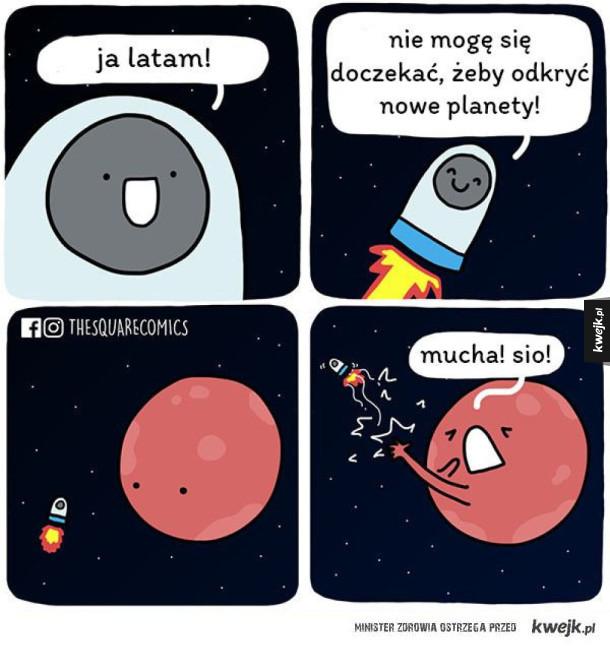 Kosmos to niebezpieczne miejsce