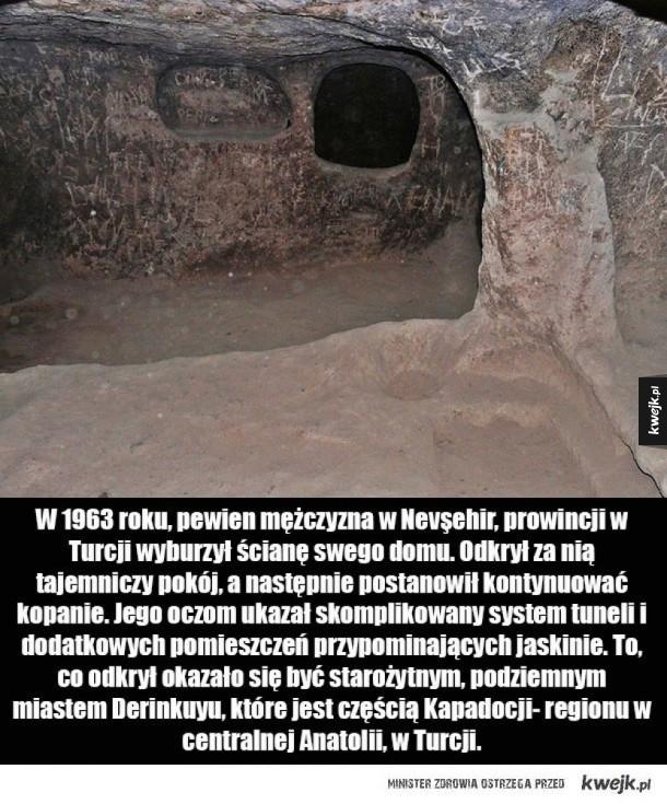 Podziemne miasta Kapadocji