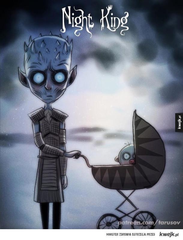 Gdyby Tim Burton zrobił animowaną wersję Gry o Tron