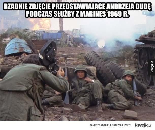 Andrzej służył w Marines