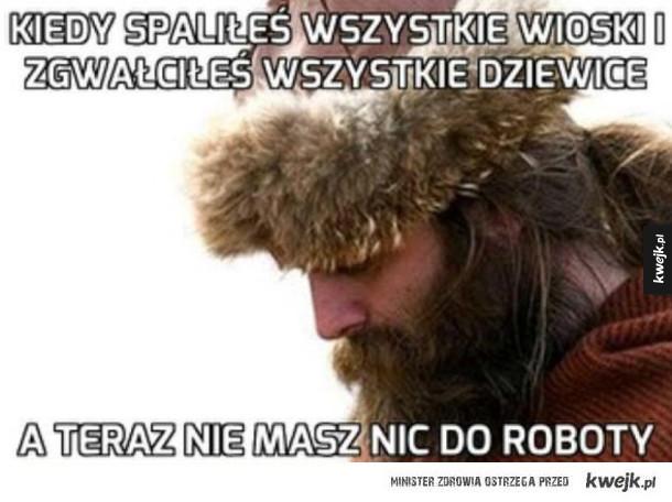 Problemy wikingów