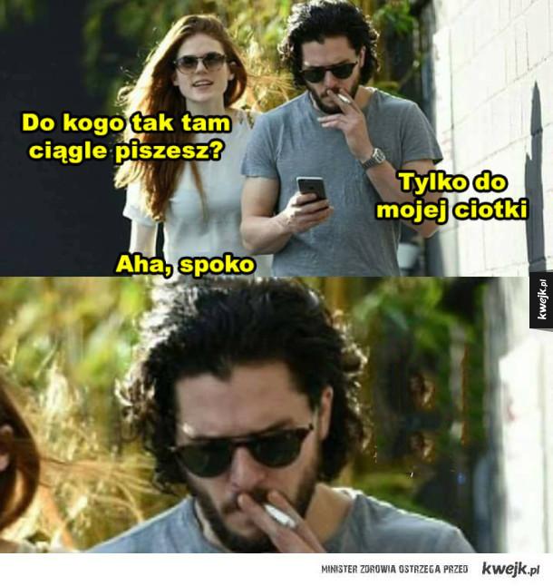 Nieładnie Jon, nieładnie...