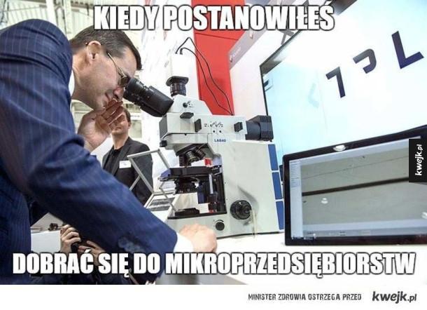 Morawiecki ora przedsiębiorstwa