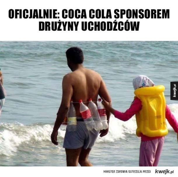 Sponsor drużyny piłki wodnej
